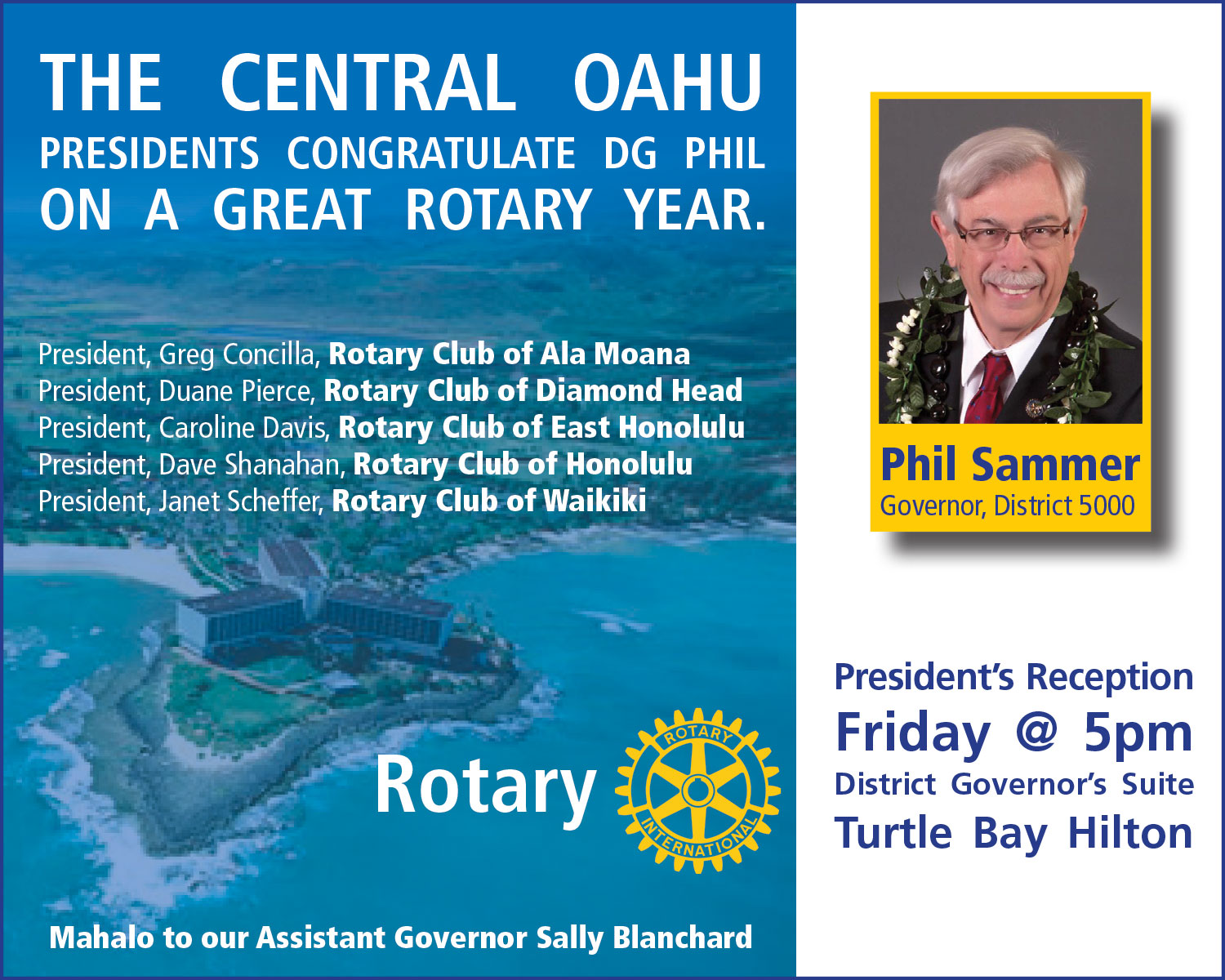Rotary International - District Governor