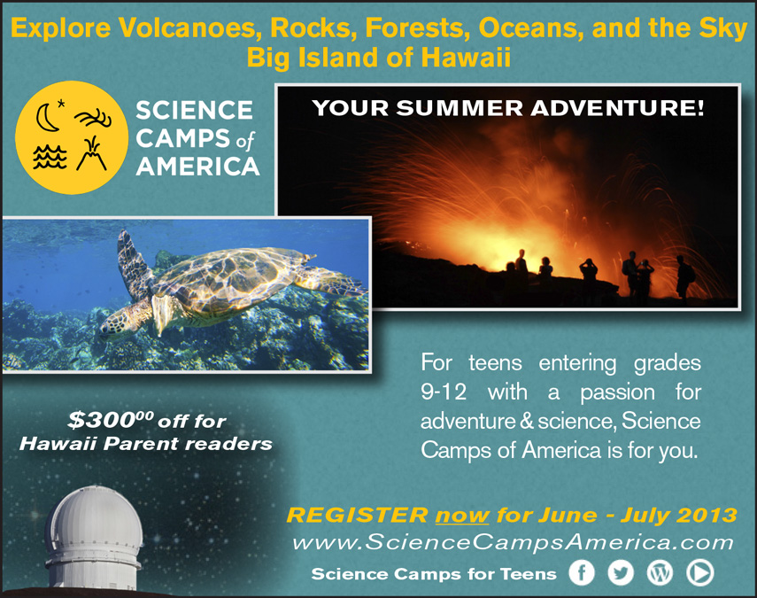 Science Camps of America - BIg Island of Hawaii